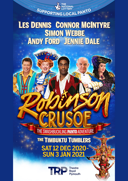 Theatre Royal Plymouth Robinson Crusoe